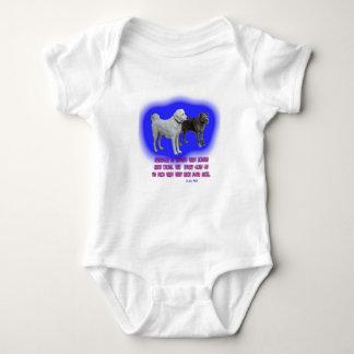 Body Para Bebé Se enseña cada uno que los ángeles tienen alas