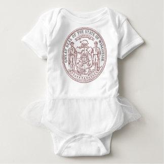 Body Para Bebé Sello descolorado de Wisconsin