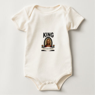Body Para Bebé señor de la amabilidad del rey