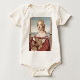 Body Para Bebé Señora con Raphael Santi del unicornio