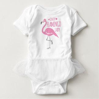 Body Para Bebé Señora loca del flamenco