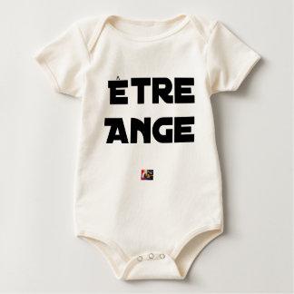Body Para Bebé SER ÁNGEL - Juegos de palabras - Francois Ville