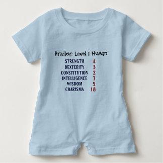 Body Para Bebé Ser humano del nivel 1 personalizado