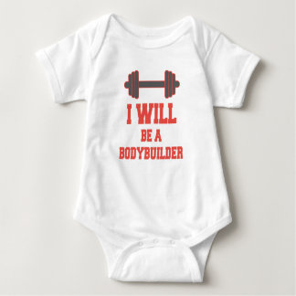 Body Para Bebé Seré un Bodybuilder