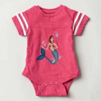 Body Para Bebé Sereia