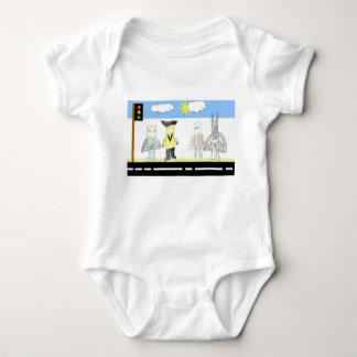 Body Para Bebé Serie #1 del super héroe