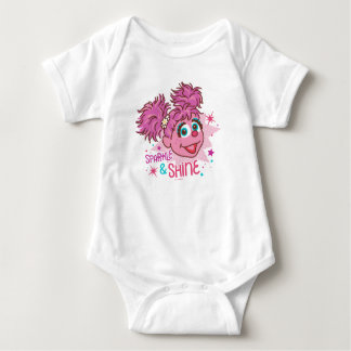 Body Para Bebé Sesame Street el | Abby Cadabby - chispa y brillo