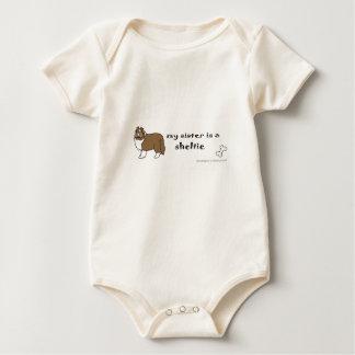 Body Para Bebé sheltie