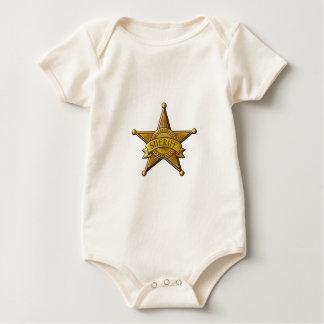 Body Para Bebé Sheriff