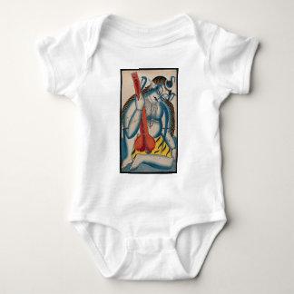 Body Para Bebé Shiva intoxicado que sostiene el cordero