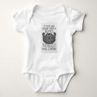 Body Para Bebé Si su papá no tiene una barba Onsie