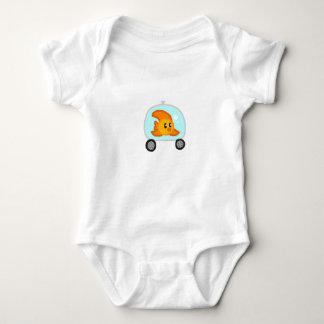 Body Para Bebé Sie del bebé uno de los pescados 2,0