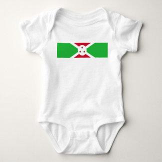 Body Para Bebé Símbolo de la bandera de país de Burundi de largo