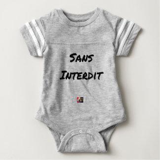 Body Para Bebé SIN PROHIBICIÓN - Juegos de palabras - Francois