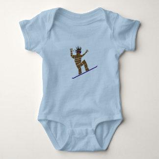 Body Para Bebé Snowboarder