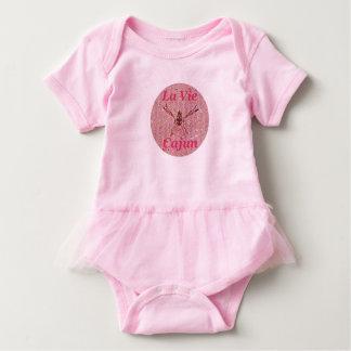 Body Para Bebé Snuggle del tutú del bebé de LVC, rosado