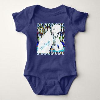 Body Para Bebé Snuggle el oso polar