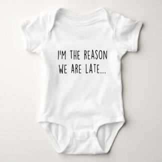 Body Para Bebé Somos atrasados