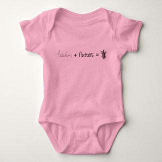 Body Para Bebé Sondeos + Alborotos = gráfico social de la