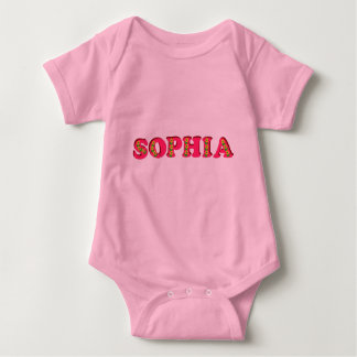 Body Para Bebé Sophia