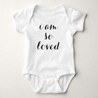 Body Para Bebé Soy así que equipo amado del bebé