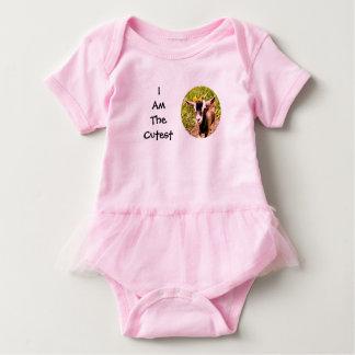 Body Para Bebé Soy el niño más lindo (la foto de la cabra del