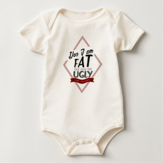 Body Para Bebé Soy gordo usted soy feo