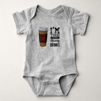 Body Para Bebé Soy las bebidas de la mamá de la razón