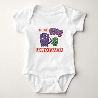Body Para Bebé Soy los diseños de hermano mayor