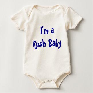 Body Para Bebé Soy un bebé de la precipitación