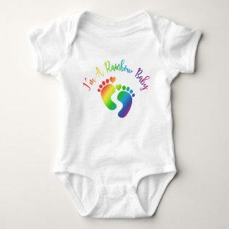 Body Para Bebé Soy un mono del bebé del arco iris