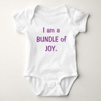 Body Para Bebé Soy un paquete de alegría
