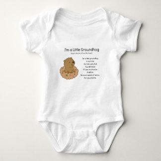 Body Para Bebé Soy un pequeño Groundhog