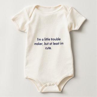 Body Para Bebé Soy un poco fabricante de problema, pero por lo