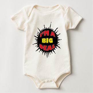 Body Para Bebé Soy una gran cosa - comentario social astuto