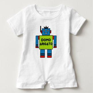 Body Para Bebé Sr. Roboto Romper de Domo Arigato