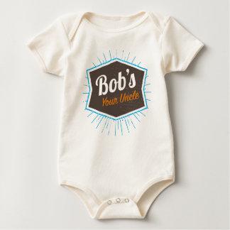 Body Para Bebé Su chiste del tío Funny Man Named Bob de Bob
