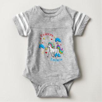 Body Para Bebé Sueños del unicornio