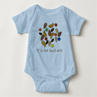 Body Para Bebé T está para las semillas Nuts de la mezcla del