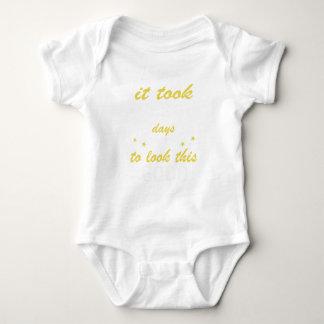 Body Para Bebé Tardó 80 años para mirar esto bueno