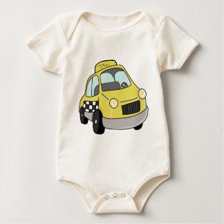 Body Para Bebé Taxi amarillo