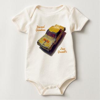 Body Para Bebé Taxi del amarillo de la caja de cerillas del