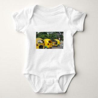 Body Para Bebé Taxis amarillos brillantes de los Cocos de la
