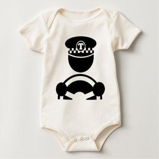 Body Para Bebé Taxista