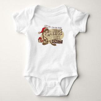 Body Para Bebé TAZ™- estoy en Niza la lista