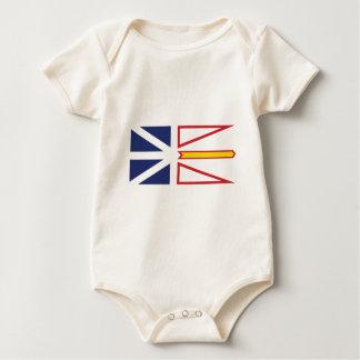 Body Para Bebé Terranova y Labrador