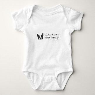 Body Para Bebé terrier de Boston - más cría