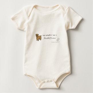 Body Para Bebé terrier de Norfolk