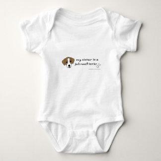 Body Para Bebé terrier de Russell del enchufe