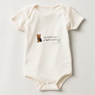 Body Para Bebé terrier de Yorkshire